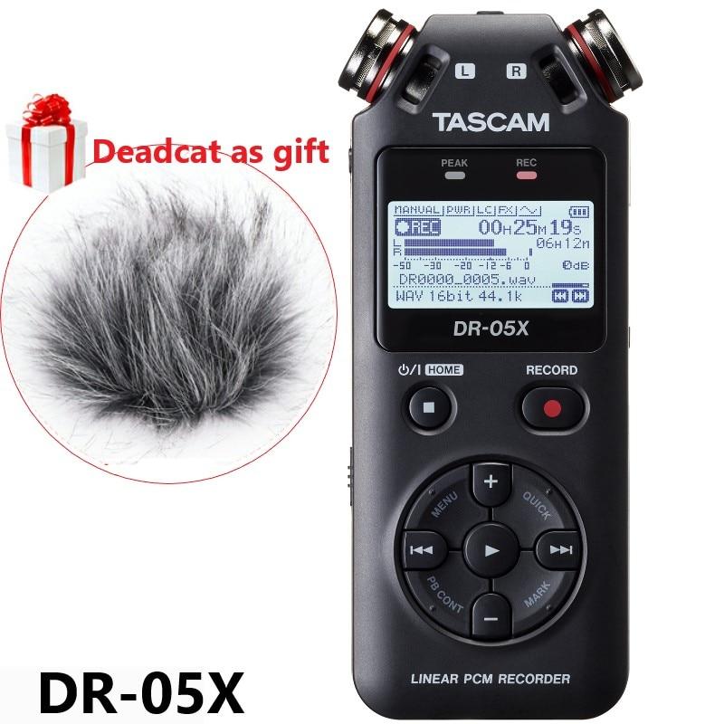 New version TASCAM DR05x DR 05X Handheld Professional Portable Digital Voice Recorder MP3 Recording Pen USB
