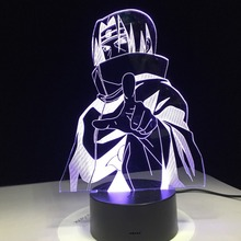 Naruto 7 Color Changing Led Lamp
