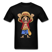 Kawaii One Piece Luffy Tshirt Straw Hat Captain Marvel Pirate Skull T-Shirts Boku no Hero Academia Funny T Shirt Naruto Goku Men