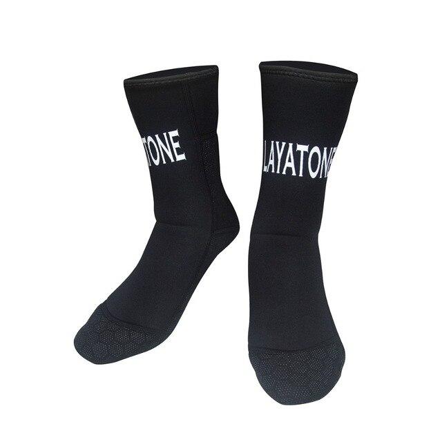 Layatone Wetsuit Socks 3mm Neoprene Scuba Socks Diving Spearfishing Underwater Water Socks Boots Shoes Beach Canoeing Outdoor