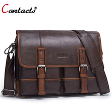 Contact s Genuine Leather Bag Men Bag Male Handbag Men Messenger Bag Men Leather Handbag Crossbody