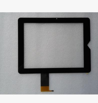 """Prix pour Nouveau Pour 9.7 """"TeXet TM-9738W TM-9737W tablet PB97DR8070-05 Écran Tactile capacitif Tactile Digitizer Panneau de Verre Livraison gratuite"""