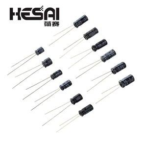 Image 2 - 120 adet/takım 12 Değerleri 0.22 UF 470 UF Alüminyum elektrolitik kondansatör Ürün Çeşitliliği KITI