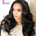 Доступное бразильский объемной волны 4 связки prom queen продукты волос 7а класс необработанные бразильские человеческие волосы сотка 100 г пучки