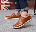 2016 New men's Genuine Leather casual shoes men spring autumn tide brand men's casual shoes free shipping