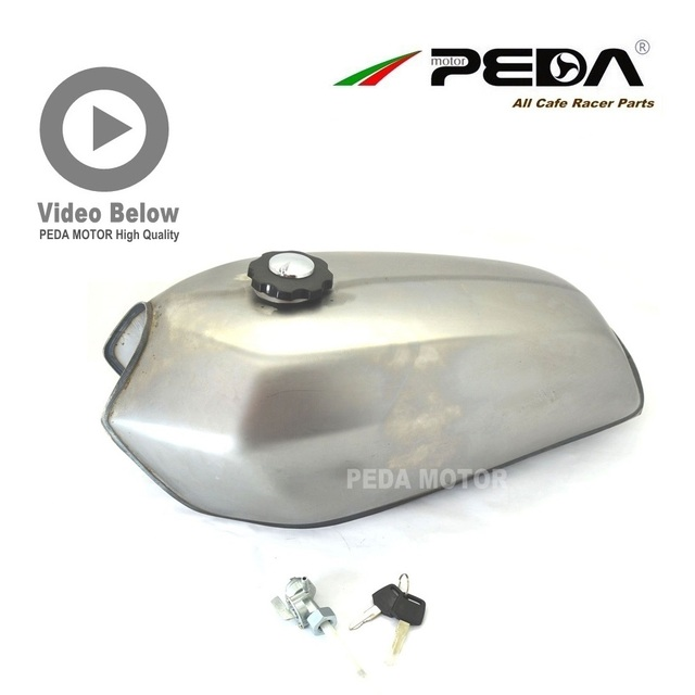 B1 5NS PEDA Cafe Racer Tank 9L Motorcycle Vintage Fuel Can Retro Petrol tank For HONDA CG 125 250 For SUZUKI 9L-CG-B-MAO JH GN
