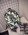 Горячая продажа 2017 новая мода Harajuku скейтборд ОБМАН письмо лист рюкзак опрятный стиль школьный женщины дорожная сумка