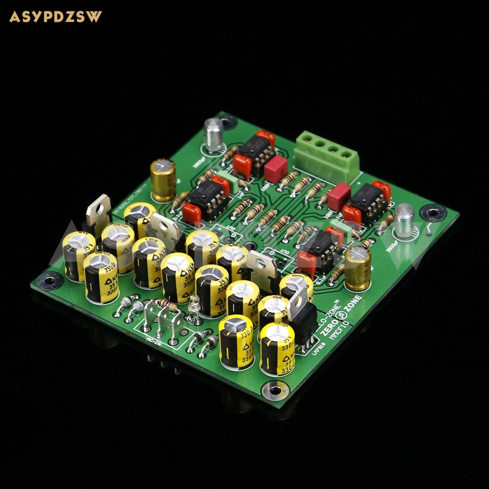 Hot Sale Mmcf10 Hifi Lp Phonograph Mm Amplifier Riaa Phono Preamp Circuit Preamplifier Finished Board