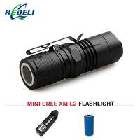 Portable Mini Flashlight Cree Xm L2 LED Lantern 4 Modes Zoomable Waterproof Torch Penlight For Bike