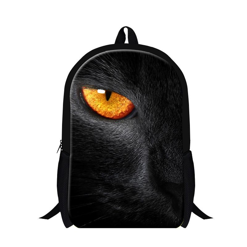 Dispalang Fashion Cat Mouse 3D Print Shoulder Backpack Animal 16 Inch Rucksack Kids School Student Book Bag Children Satchel