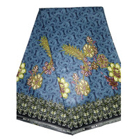 pure cotton veritable hollandis wax real batik wax printed fabric for women dresses