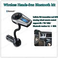 mini Bluetooth V2.1+EDR MP3 Player built-in FM support SD / TF/ USB/ steering wheel remote control Bluetooth hands-free phone