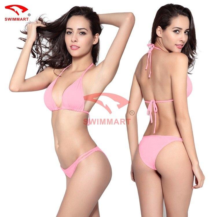fd2d24d9f0f New lingerie ladies No bra Tie Bikini Sweet underwear sexy underwear suit  11colors on Aliexpress.com