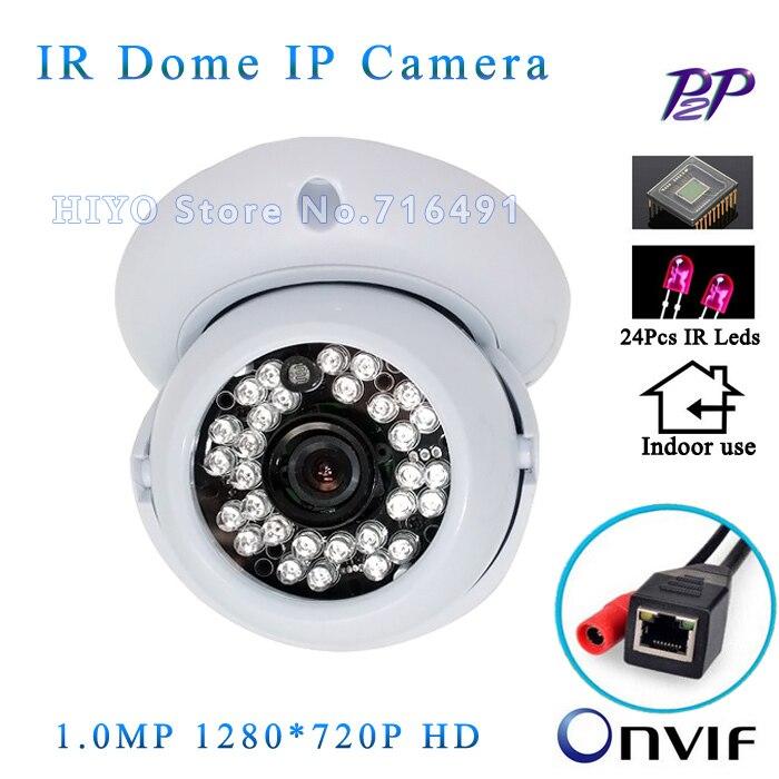 ФОТО Mini IP Camera Indoor 720P HD  Network 1.0MP HD CCTV Camera P2P Plug Play OnvifH.264 free shipping