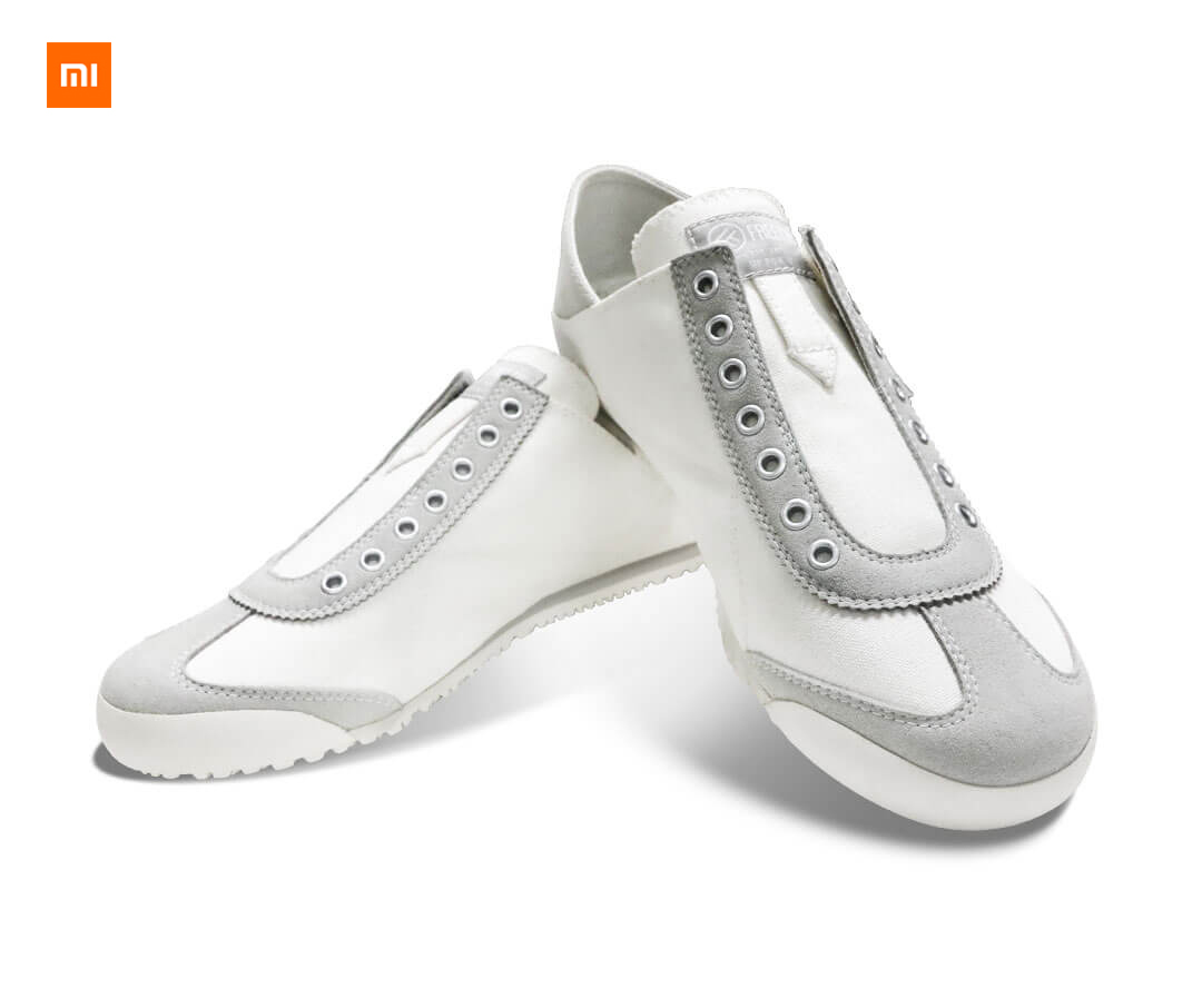 New Xiaomi Mijia Youpin FREETIE two casual canvas shoes One pair of shoe canvas upper rubber outsole cushioning rebound-in Smart Remote Control from Consumer Electronics    1