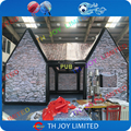 10*6*6mH  Club Pub Bar House Inflatable Exhibition pub bar Tent For Beer,with 2pcs air blower