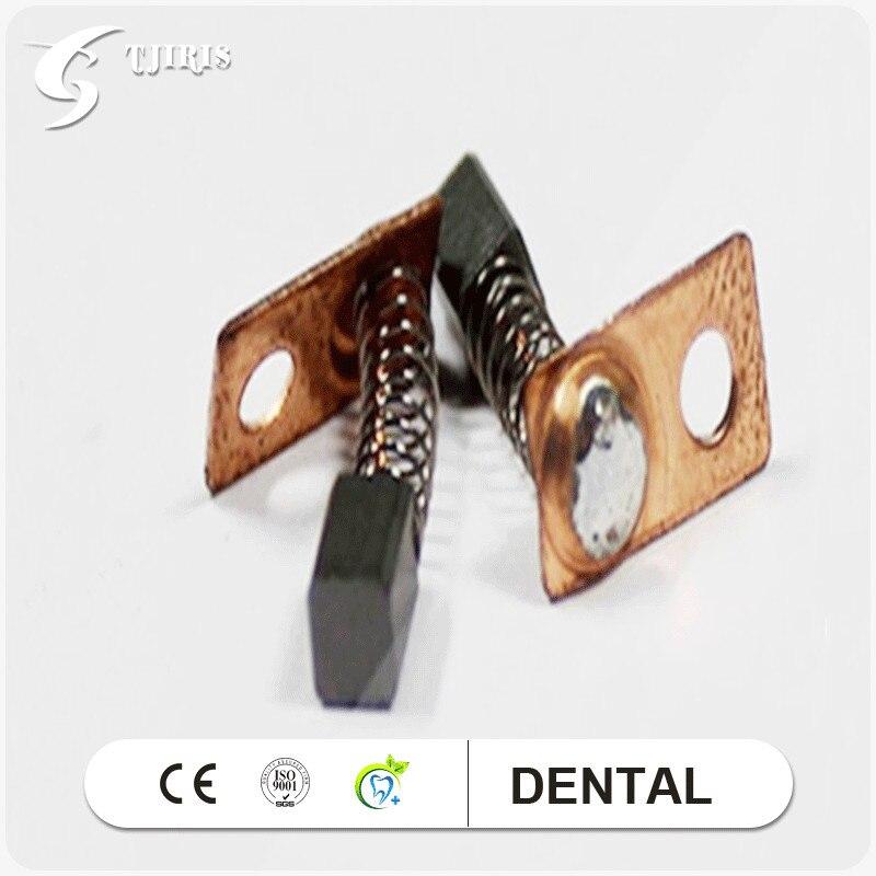 20pcs(10 Pairs) Original South Korea Carbon Brush For SAESHIN Micromotor Handpiece Parts & Accessories Dental Material