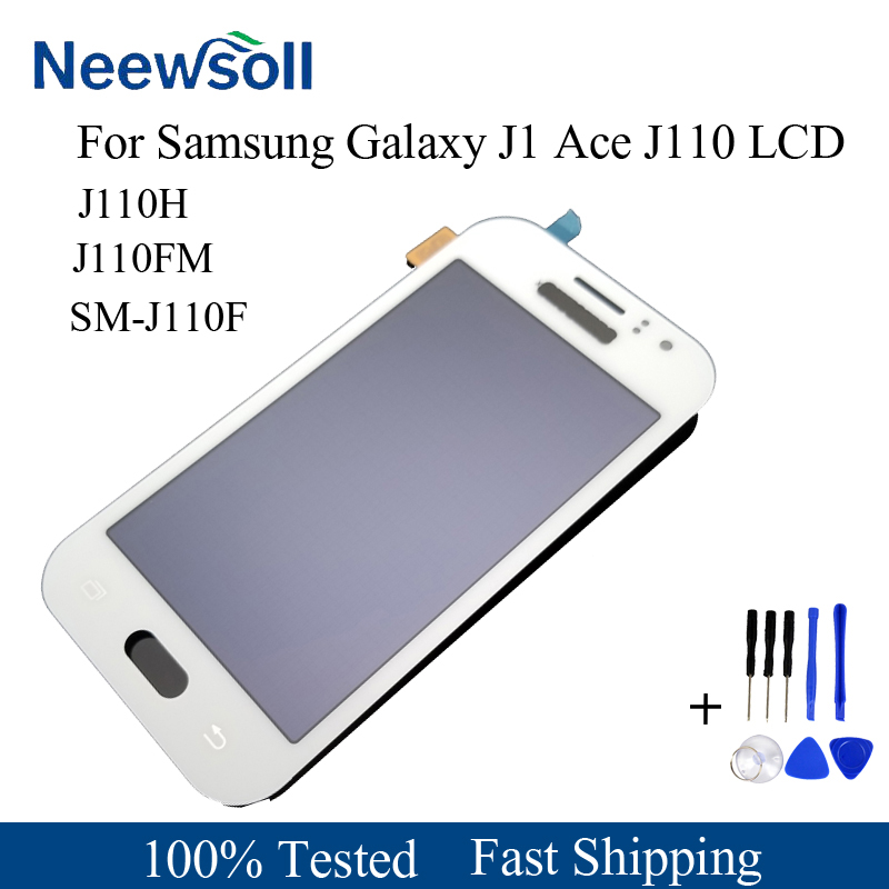 For Samsung Galaxy J1 Ace J110 SM-J110F J110H J110FM LCD Display With Touch Screen Digitizer Assembly