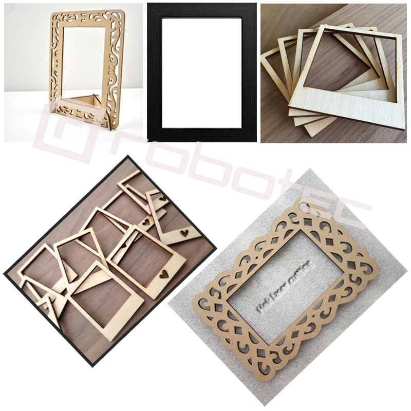 Robotec photo frame cutting & engraving cnc laser cutting machine 1390 photo
