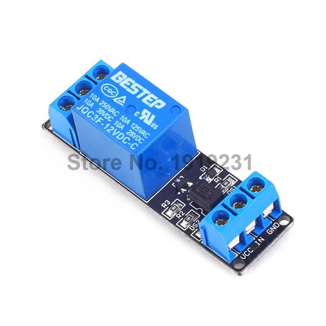 US $1 35 |1PCS 1 Channel 12V Relay Module Control Relay 1Channel Relay  Module for Arduino-in Relays from Home Improvement on Aliexpress com |  Alibaba