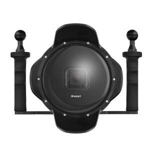"""Image 1 - 6 """"ดำน้ำใต้น้ำกล้องเลนส์ Dome W/Fisheye มุมกว้างเลนส์สำหรับ GoPro"""
