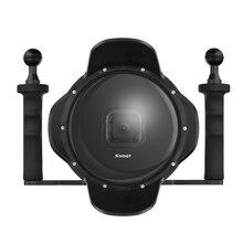 """Shoot 6 """"nurkowanie aparat podwodny obiektyw pokrywa kopuły w/obiektyw szerokokątny typu"""" rybie oko """"Shell dla GoPro"""