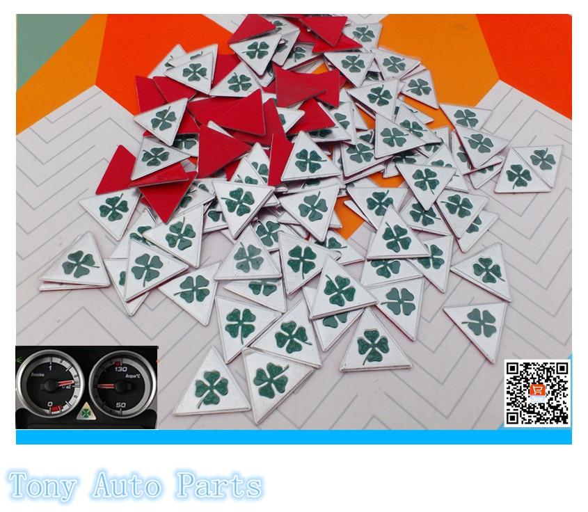 100pcs 2 0cm 20mm Car Logo emblem Badge decal Alfa Romeo for 159 147 156 166