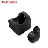 Hidden Invisible Earpiece Micro Mini Wireless Headset Bluetooth Earphone In Ear With Charging Box LJ-MILLKEY YZ109