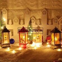 Ветрозащитный подсвечник украшения Рождественские огни подсвечник ремесла свадебные подарки Домашний декор Новогоднее украшение