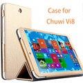 Высокое Качество, Модные Кожаные Case Для Chuwi Vi8 Case Luxury 8.0 дюймов Откидной Крышки Для Chuwi Vi8 Обложка Tablet PC Shell