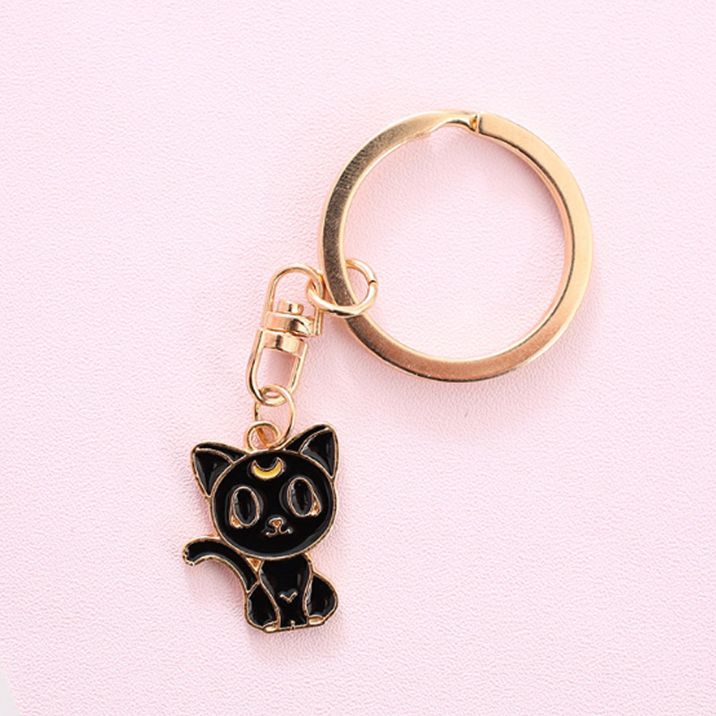 ▽ New! Perfect quality 14k cat keychain and get free shipping