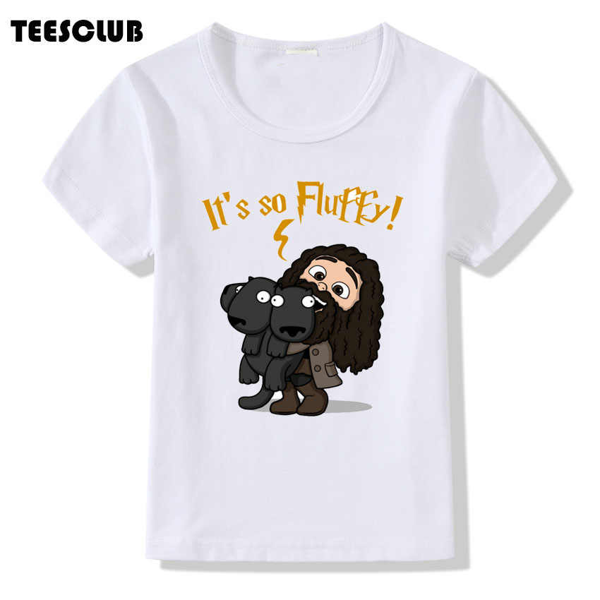 b9ae8b25 TEESCLUB It's So Fluffy Print T-shirt Kids 2018 Cute Deadpool And Unicorn  Design T
