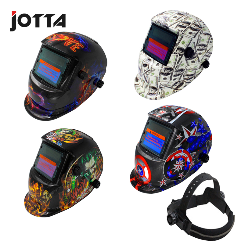 Solar Auto Darkening MIG MMA Electric Welding Mask/Helmet/welder Cap/Welding Lens For Welding Machine