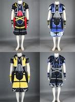 adult Halloween costume kingdom hearts Sora cosplay Costume for men anime clothes Custom 9 sets
