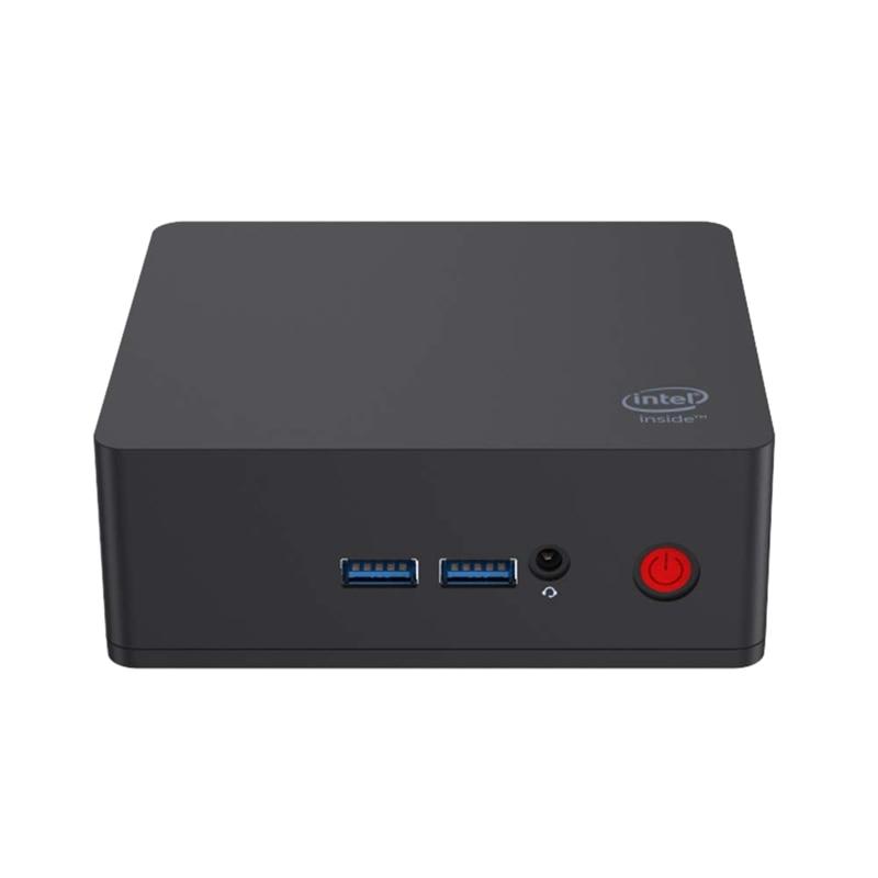 AP35 Mini PC Desktop Windows 10 Multimedia Office Computer 4GB Ram Lpddr4 64GB Emmc Intel Apollo Lake Celeron Processor J3355