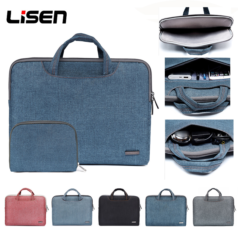 11.6 13.3 15.6 inch Laptop Bag 2017 Men Women New Hot Nylon Laptop Briefcase Bag Shockproof Notebook Bag Briefcase 15.6 inch