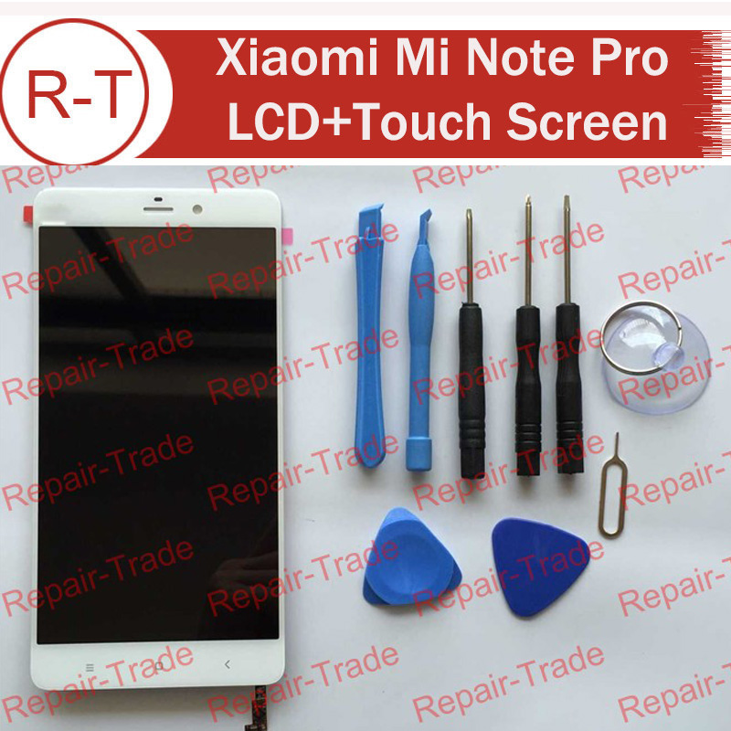 Lcd Screen For Xiaomi Mi Note Pro 100% New Lcd Display+Touch Panel With Free Tools For Xiaomi Mi Note Pro 2560X1440 5.7inch 2K
