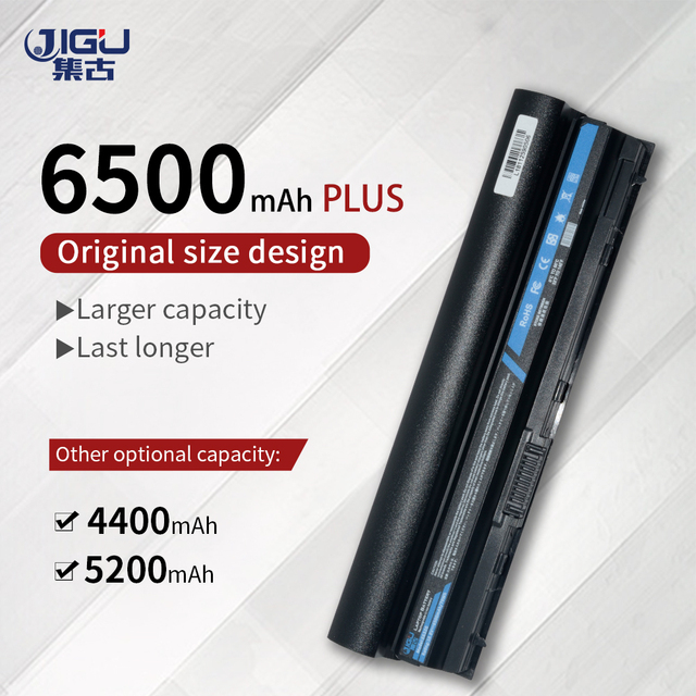 Аккумулятор JIGU для ноутбука Dell Latitude E6120 E6220 E6230 E6320 E6330 E6320 XFR E6430s Series 09K6P 0F7W7V 11HYV 3W2YX 5X317 7FF1K