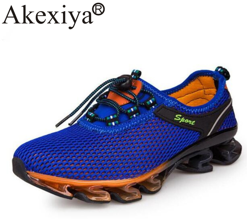 Akexiya Cushioning Outdoor Running Shoes For Men Non-slip Sport Professional Athletic Training Sneakers Plus Big Size 48