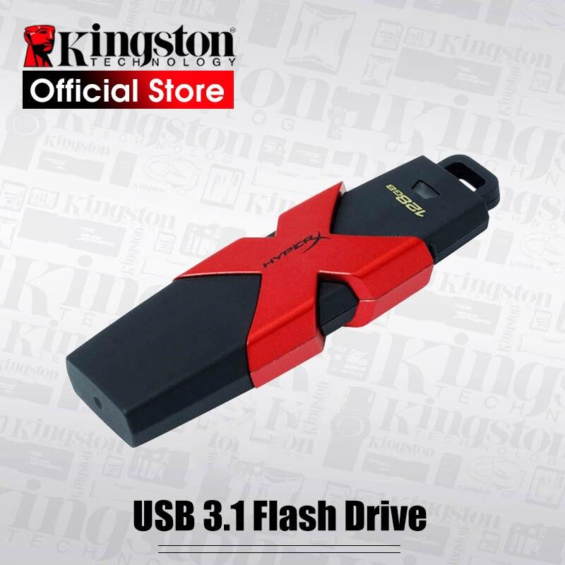 Kingston HyperX Savage 64 gb USB 3.1 Flash Drive 350 mb/s Lire 128 gb Vitesse Haute Pen drives 512 gb flash Disque mémoire malade 256 gb