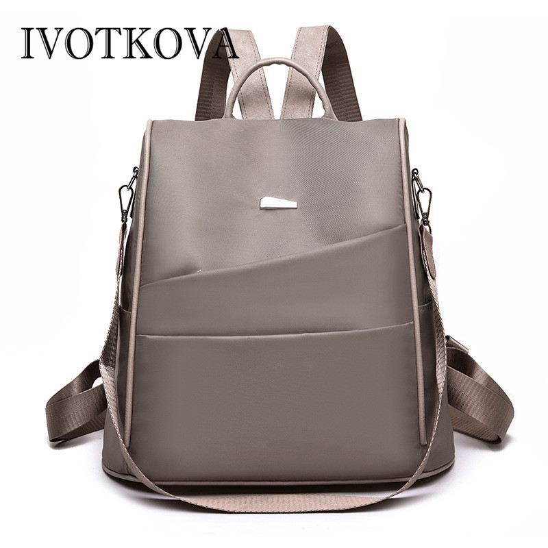 IVOTKOVA Anti thief  Bagpack laptop backpack for Women Men school Bag for Female Male Travel Mochila feminina Lady BagIVOTKOVA Anti thief  Bagpack laptop backpack for Women Men school Bag for Female Male Travel Mochila feminina Lady Bag