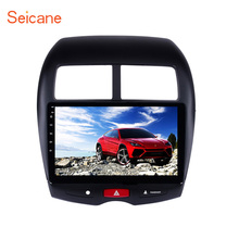 Seicane Android 6.0/7.1 2 DIN Car Multimedia Car  GPS Navigation For 2010 2011-2013-2015 Mitsubishi ASX Peugeot 4008 Quad-core