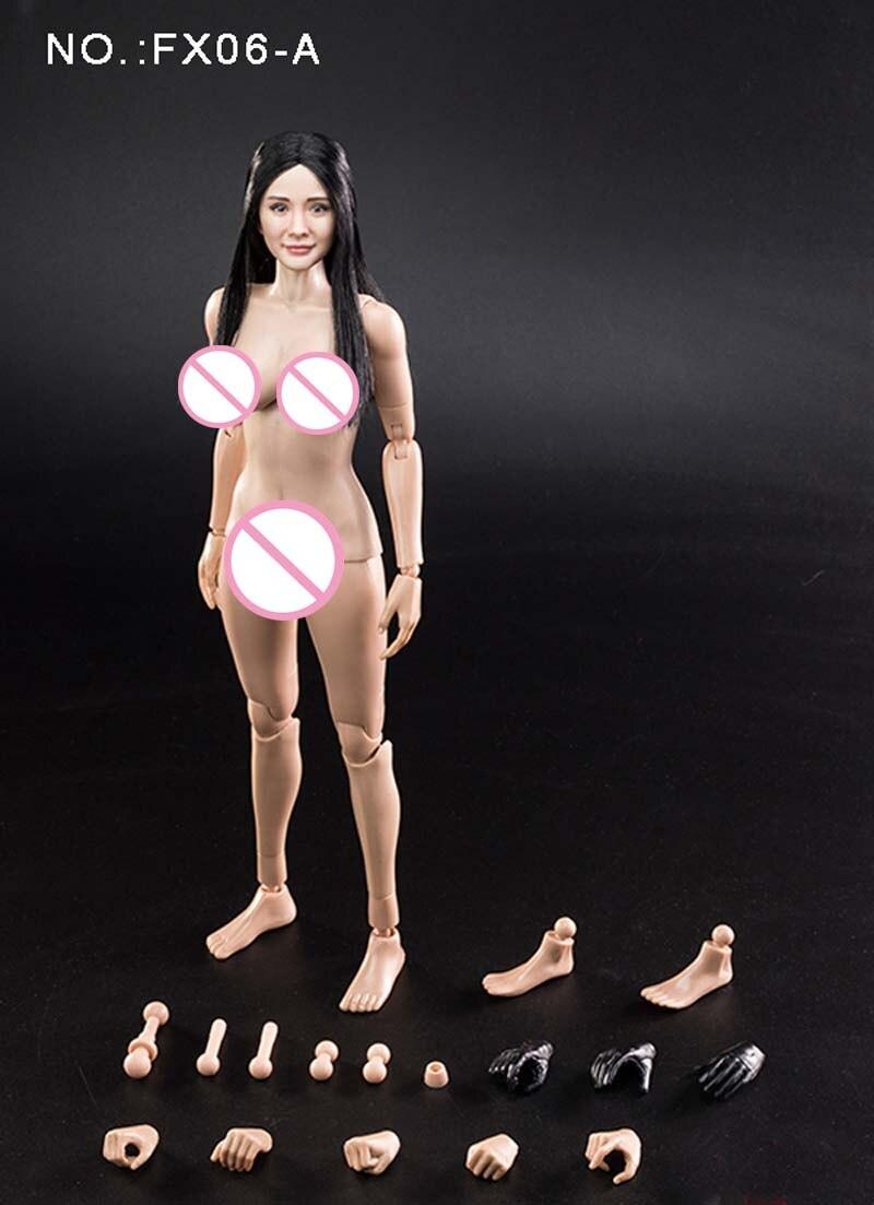 Pré vente 1/6 échelle VC3.0 FX06A Mi Yang tête sculpter cheveux raides avec demi colle corps féminin asiatique chinois Star modèle jouets-in Jeux d'action et figurines from Jeux et loisirs    3