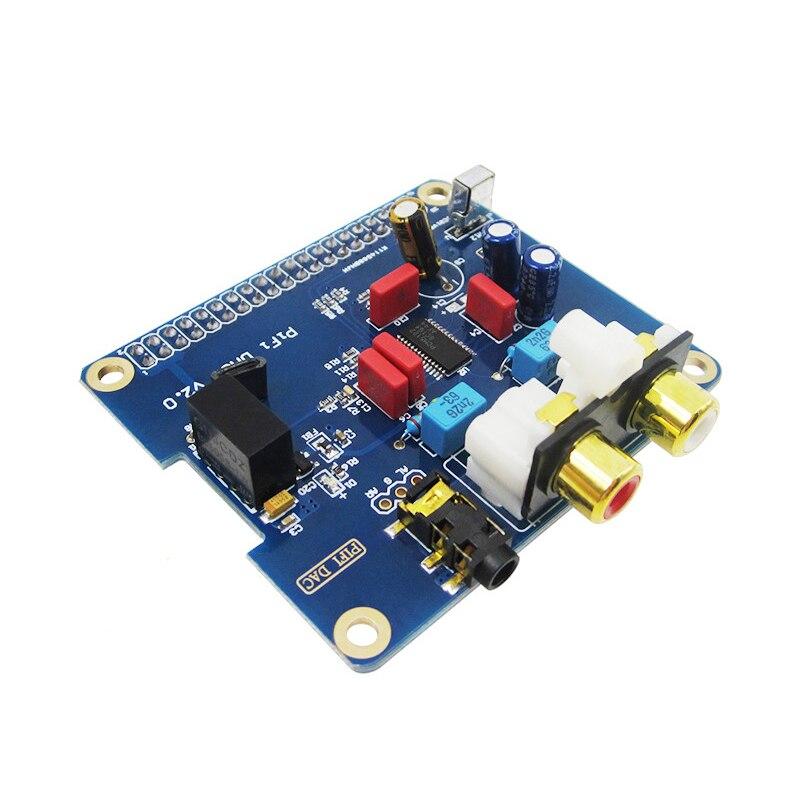 PIFI Digi DAC + HIFI DAC Audio Carte Son Module I2S interface pour Raspberry pi 3 2 Modèle B B + Numérique Audio Carte Favoris V2.0