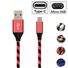 Micro usb fast Charger Type C cable For Huawei Nova 5 3 P9 P10 P20 Lite Mate 20 pro Honor 9 10 9X 8X 8A Y6 Y7 P Smart Z 2019(China)