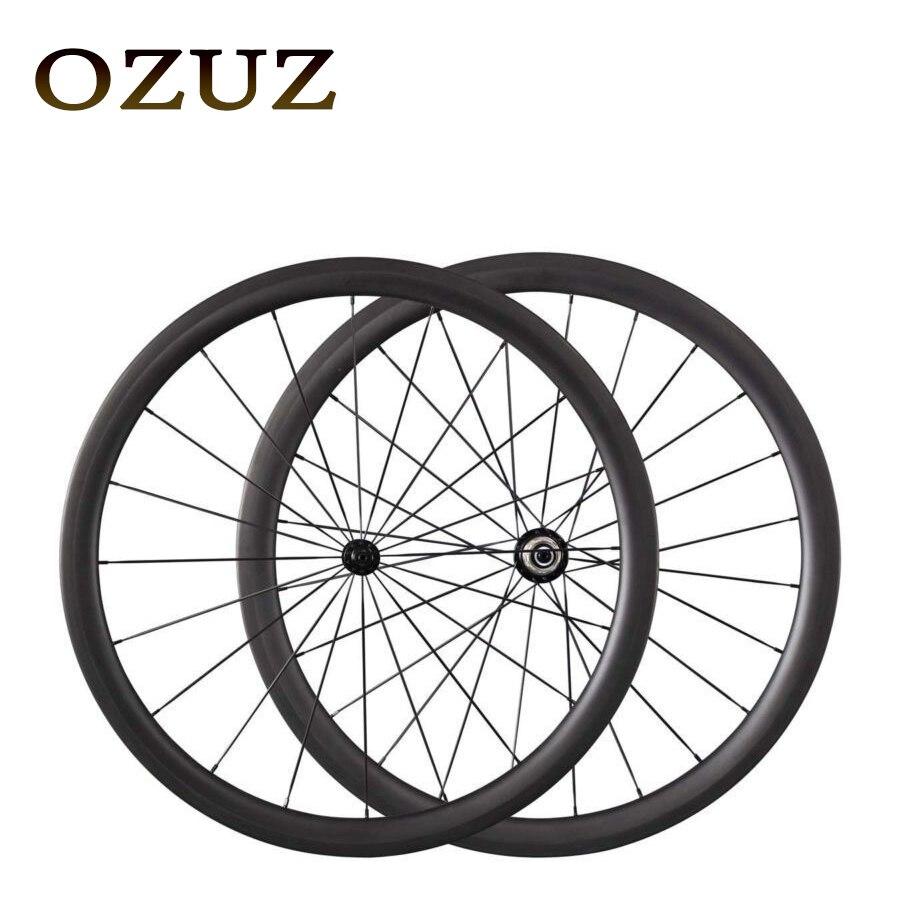 Тормоза V powerway R13 38 мм 50 мм Глубина Велосипеды углеродного волокна колеса довод 700c 3 К ткань матовая колесная ultra light налог включен
