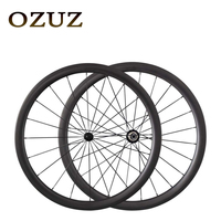 Powerway R13 Hubs 700C OZUZ 38mm 50mm Clincher Tubular Carbon Fiber Wheels Racing Touring 3K Matte