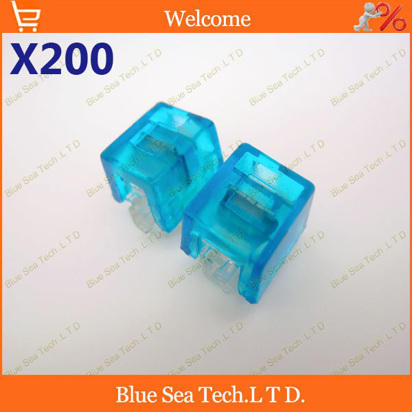 Good quality,200pcs K4 Wire Connector,K4 cable connector,network cable terminal block for Telephone telecom Cable Free Shipping