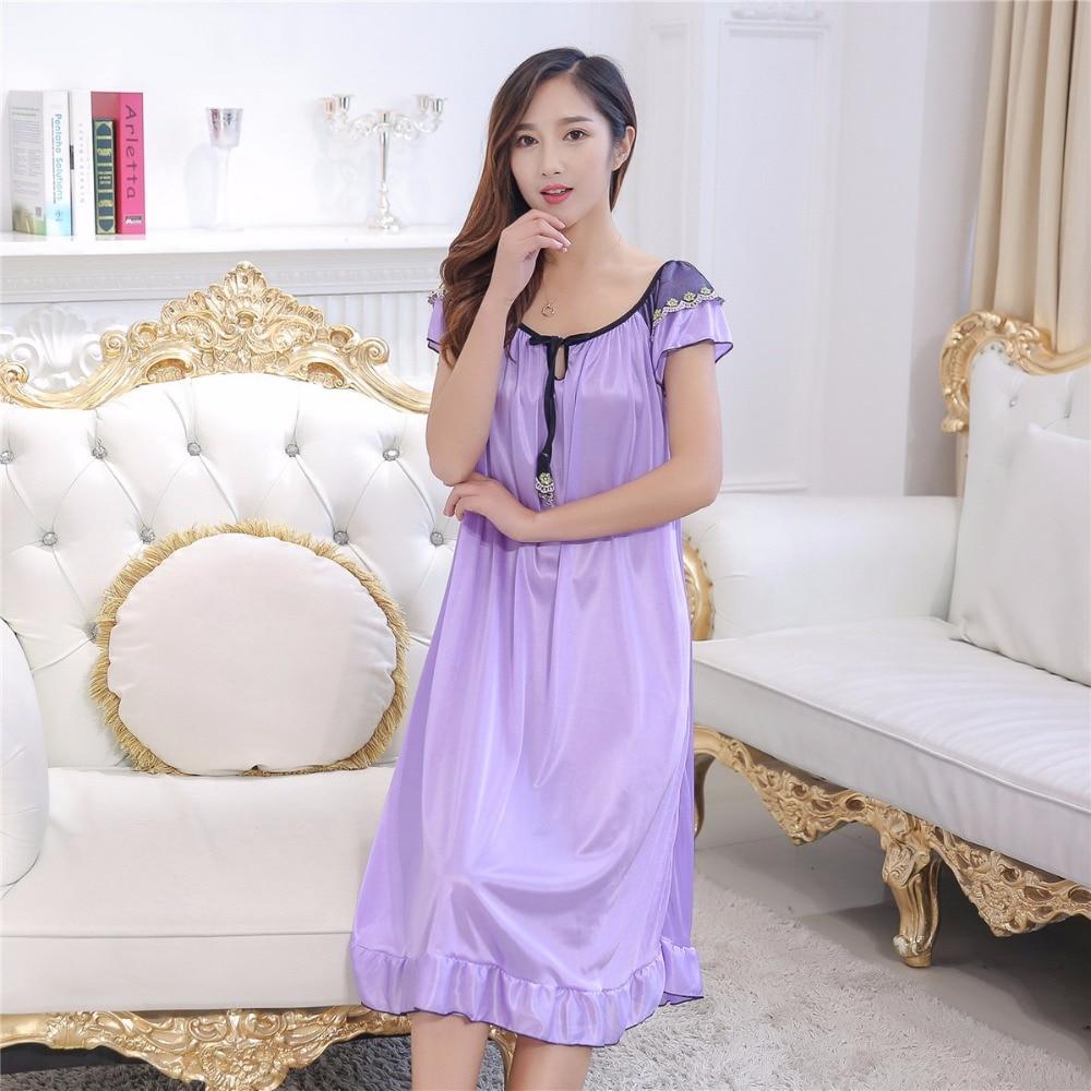 Women Nightgown Women Nightwear Sexy Sleepwear For Women -9090