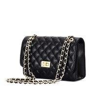Moxi/модные женские сумки из натуральной кожи; маленькие сумки из коровьей кожи; сетчатые сумки на плечо; маленькие вечерние сумки; черный цвет